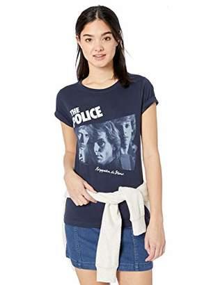 Liquid Blue Women's Police Reggatta De Blanc Long Length T-Shirt