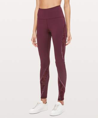 Lululemon Wunder Under High-Rise Tight* Flocked 28""