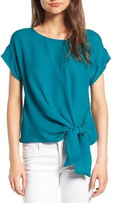 Women's Amour Vert Camila Silk Top $138 thestylecure.com