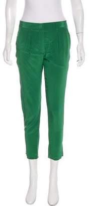 Jenni Kayne Mid-Rise Silk Pants