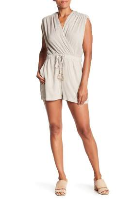 Lucky Brand Stripped Wrap Romper