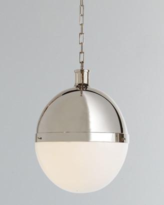 Visual Comfort Hicks 2-Light Extra-Large Polished-Nickel Pendant
