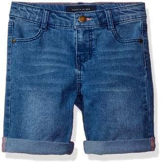Tommy Hilfiger Big Girls' Five Pocket Denim Short