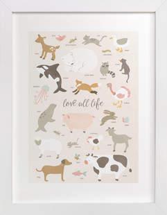 love all life Self-Launch Children's Art Print