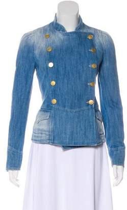 Etoile Isabel Marant Double-Breasted Denim Jacket