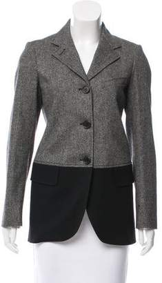 Derek Lam Tweed Virgin Wool Blazer