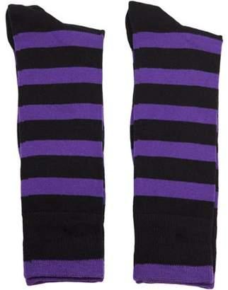 Gold Toe Gt a Goldtoe Brand GT by Men's Stripe Crew Dress Socks, 2-Pack