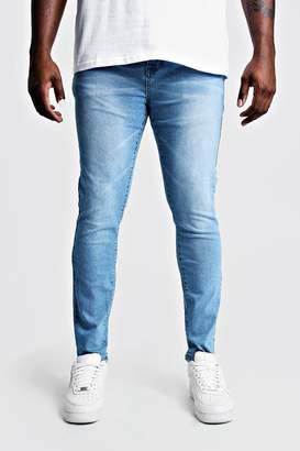 boohoo Big & Tall Skinny Fit Jeans