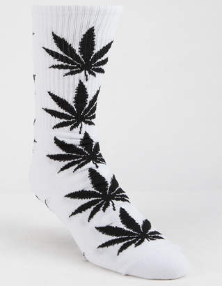 HUF Plantlife White Mens Crew Socks