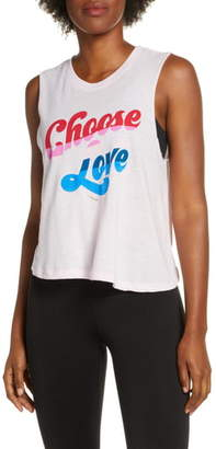 Spiritual Gangster Choose Love Crop Tank