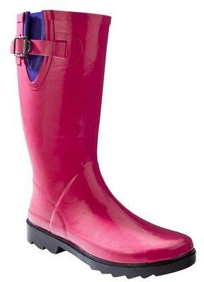 Merona Women's Zora Rain Boot - Berry