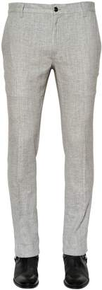 John Varvatos Stretch Linen Canvas Pants