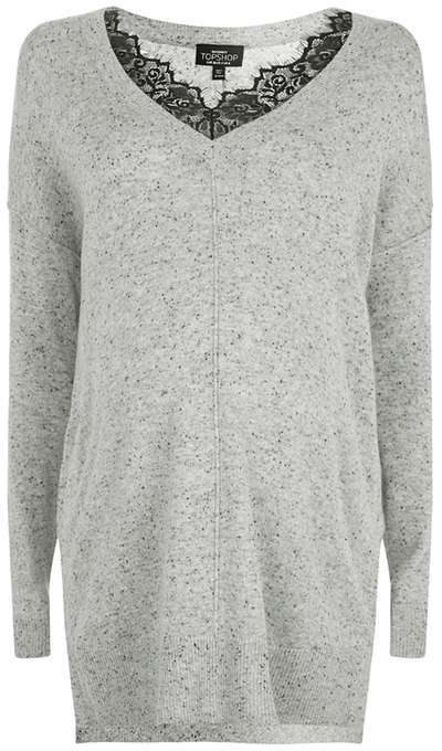 Topshop Topshop Maternity lace insert knitted jumper
