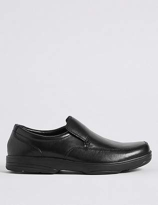 """Marks and Spencer Extra Wide Leather Shoes with Freshfeetâ""""¢"""