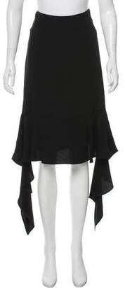 Marni Asymmetrical Knee-Length Skirt