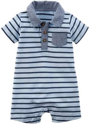 Carter's Baby Boy Striped Romper