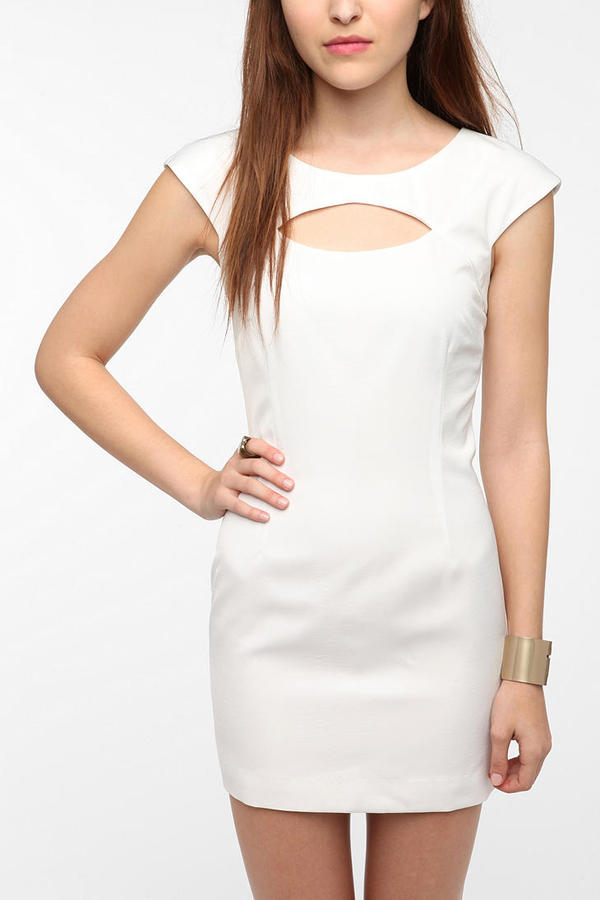 ERA By Kymerah Silky Cutout Mini Dress