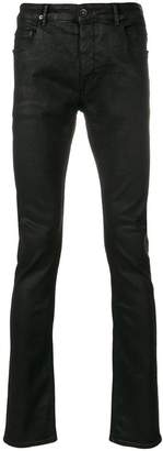 Rick Owens coated skinny jeans