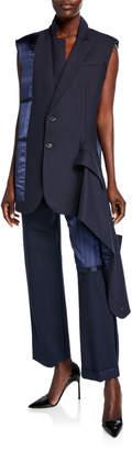 Monse Inside Out Blazer Vest