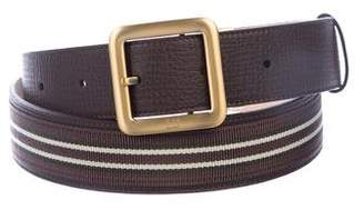 Dunhill Leather Buckle Belt w/ Tags