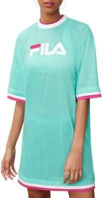 Fila Logo Mesh Dress