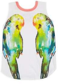 Chaser Girl's Mirrored Birds Tank Top