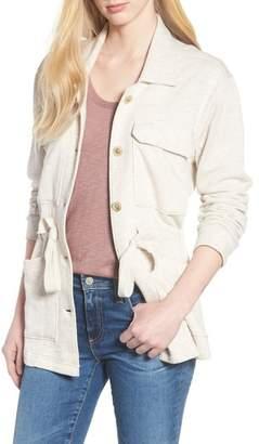 Caslon Knit Utility Jacket