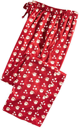 Club Room Men Cocoa-Print Pajama Pants