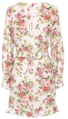 Zimmermann Radiate floral-printed linen dress