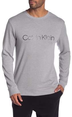 Calvin Klein Long Sleeve Crew Neck Logo Pullover