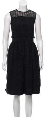 Orla Kiely Black Eyelet Dress
