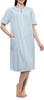 Jasmine Rose Snap Front Robe