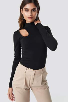 7db1632c439b2 Long Sleeve Shoulder Cut Out Top - ShopStyle UK