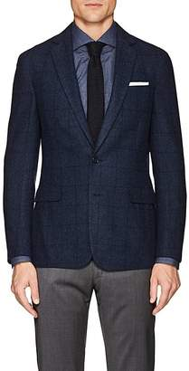 Ralph Lauren Purple Label Men's Checked Cashmere Two-Button Sportcoat