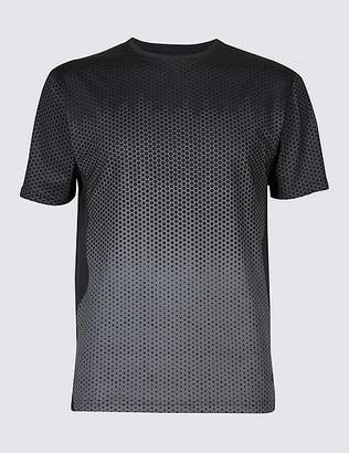 Marks and Spencer Active Quick Dry Printed T-Shirt