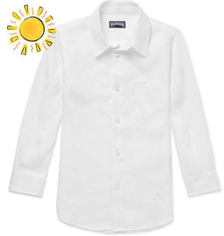 Vilebrequin Boys Ages 2 - 12 Jessy Linen Shirt