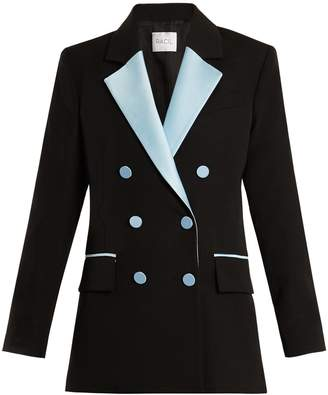 RACIL Paris double-breasted contrast-lapel wool blazer