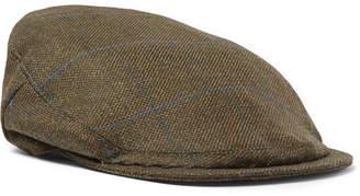 Musto Shooting Checked Wool-Blend Tech-Tweed Flat Cap