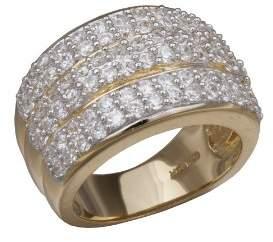 Alvina Alivna Women 925 Sterling Silver Zircon Rings