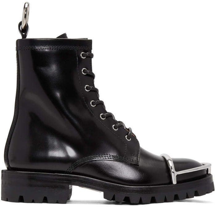 Alexander Wang Black Lyndon Boots
