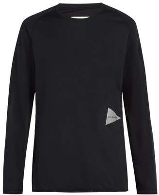 And Wander - Long Sleeved Jersey T Shirt - Mens - Black