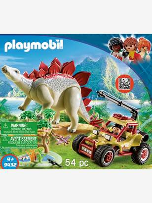 Vertbaudet 9432 Explorer with Vehicle & Stegosaurus, by Playmobil