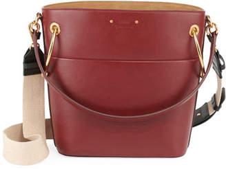 Chloé Roy Small Smooth Calf Leather Bucket Bag