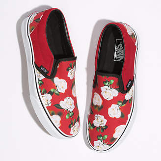 Romantic Floral Slip-On