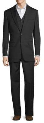 Ralph Lauren Three-Piece Wool Suit