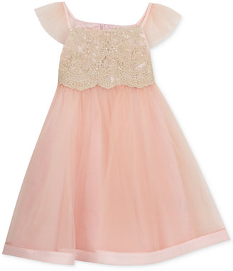 Rare Editions Lace-Bodice Tulle Dress, Little Girls (2-6X) & Toddler Girls (2T-5T) $74 thestylecure.com