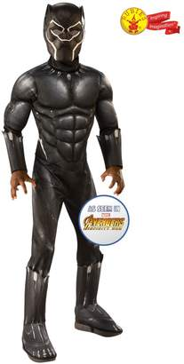 Rubie's Costume Co Girls Avengers Deluxe Black Panther Fancy Dress Costume - Black
