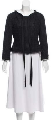 Philosophy di Alberta Ferretti Textured Button-Up Jacket