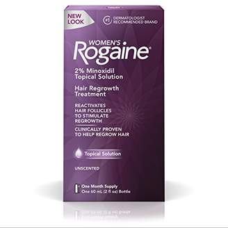Rogaine Women's 2% Minoxidil Topical Solution for Hair Thinning and Loss
