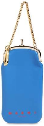 Marni Bicolor Leather Iphone Holder